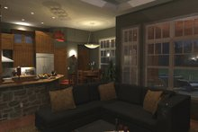 Craftsman Interior - Family Room Plan #120-162