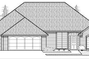 Traditional Exterior - Front Elevation Plan #65-284