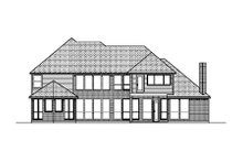 Dream House Plan - Traditional Exterior - Rear Elevation Plan #84-419