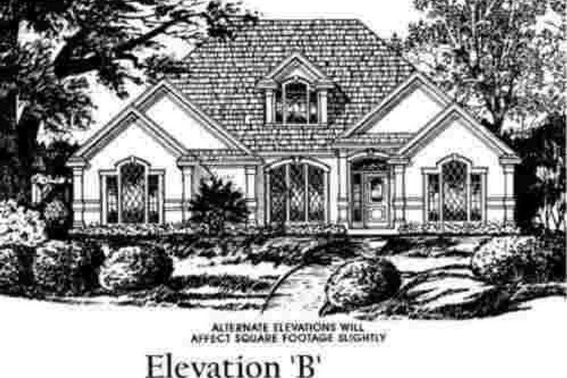 European Exterior - Other Elevation Plan #40-257 - Houseplans.com
