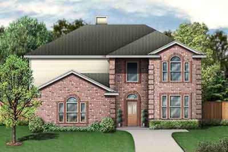 House Design - European Exterior - Front Elevation Plan #84-235