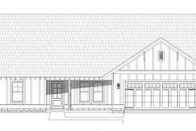 Cottage Exterior - Front Elevation Plan #932-326