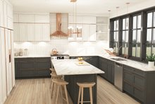 Farmhouse Interior - Kitchen Plan #23-2688