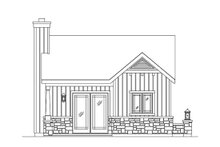 Dream House Plan - Cottage Exterior - Front Elevation Plan #22-608