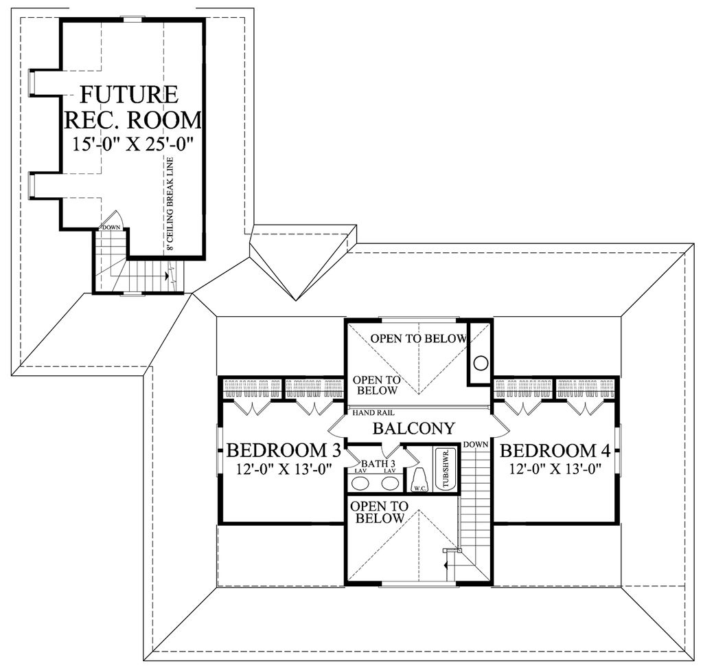 farmhouse style house plan 4 beds 3 baths 2556 sq ft plan 137