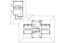 Farmhouse Floor Plan - Upper Floor Plan Plan #137-252