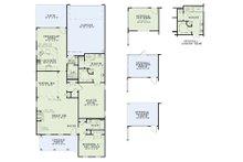 Traditional Floor Plan - Main Floor Plan Plan #17-2424