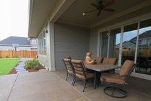Architectural House Design - Prairie Exterior - Covered Porch Plan #124-969