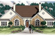 Traditional Style House Plan - 3 Beds 2 Baths 2850 Sq/Ft Plan #26-117 Exterior - Front Elevation
