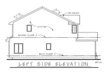 Home Plan - Traditional Exterior - Other Elevation Plan #20-1664