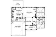 Colonial Floor Plan - Main Floor Plan Plan #119-258