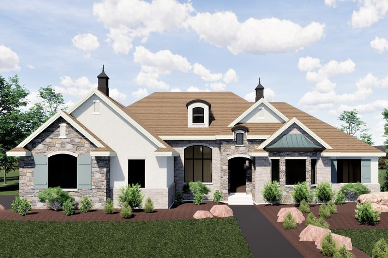 Home Plan - Traditional Exterior - Front Elevation Plan #920-20