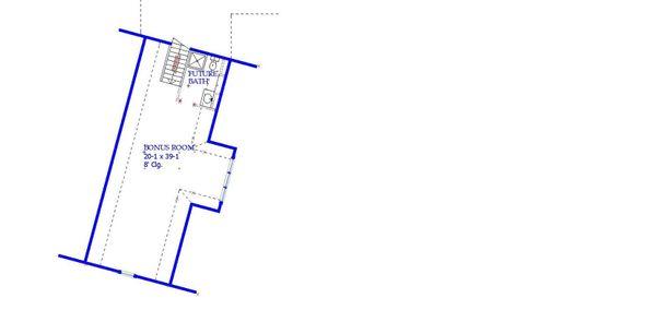 House Plan Design - Optional Bonus Level