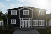 Craftsman Style House Plan - 4 Beds 2.5 Baths 2313 Sq/Ft Plan #1060-66 Exterior - Rear Elevation