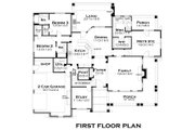 Craftsman Style House Plan - 3 Beds 3 Baths 2267 Sq/Ft Plan #120-181 Floor Plan - Main Floor