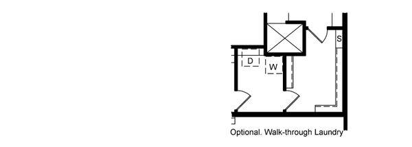 House Design - Alternate Laundry Room