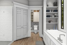 Dream House Plan - Cottage Interior - Master Bathroom Plan #406-9656