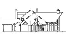 Craftsman Exterior - Other Elevation Plan #124-691
