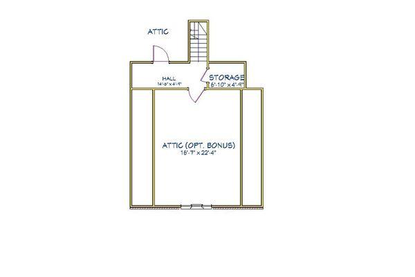 Traditional Floor Plan - Other Floor Plan Plan #898-14