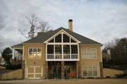 Traditional Style House Plan - 4 Beds 3.5 Baths 2670 Sq/Ft Plan #437-45 Exterior - Other Elevation
