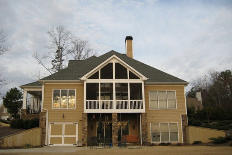 Traditional Exterior - Other Elevation Plan #437-45 - Houseplans.com