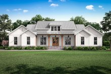 Architectural House Design - Farmhouse Exterior - Front Elevation Plan #430-224