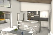 Modern Style House Plan - 4 Beds 3 Baths 2448 Sq/Ft Plan #497-37 Interior - Other