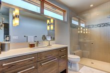 Modern Interior - Bathroom Plan #892-12