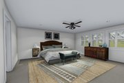 Farmhouse Style House Plan - 4 Beds 2.5 Baths 3356 Sq/Ft Plan #1060-1 Interior - Master Bedroom