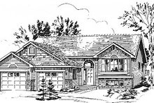 Traditional Exterior - Front Elevation Plan #18-311