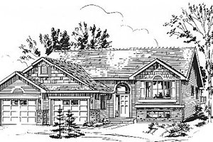 Home Plan - Traditional Exterior - Front Elevation Plan #18-311