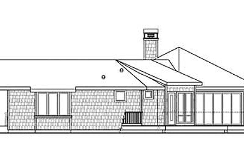 Craftsman Exterior - Other Elevation Plan #124-861 - Houseplans.com