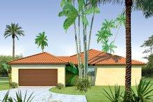 Dream House Plan - Mediterranean Exterior - Other Elevation Plan #80-113