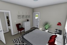 Home Plan - Ranch Interior - Master Bedroom Plan #1060-28
