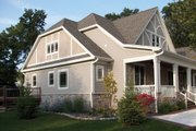 Craftsman Style House Plan - 3 Beds 2.5 Baths 2325 Sq/Ft Plan #927-2 Exterior - Other Elevation