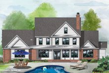 Dream House Plan - Farmhouse Exterior - Rear Elevation Plan #929-1113