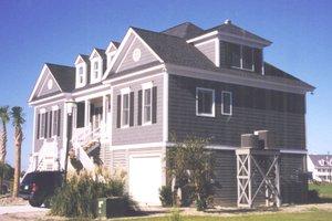 House Design - Beach Exterior - Front Elevation Plan #1054-68