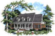 Traditional Style House Plan - 4 Beds 3 Baths 3085 Sq/Ft Plan #37-107