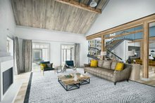 Home Plan - Farmhouse Interior - Family Room Plan #924-5