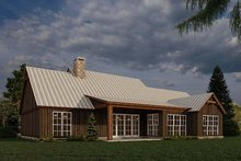 Dream House Plan - Farmhouse Exterior - Other Elevation Plan #923-181