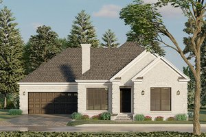 House Blueprint - Traditional Exterior - Front Elevation Plan #923-193