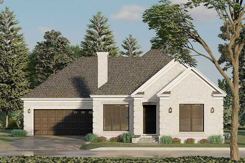 Dream House Plan - Traditional Exterior - Front Elevation Plan #923-193