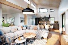 Architectural House Design - Cabin Interior - Family Room Plan #924-14