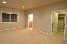 House Plan Design - Craftsman Interior - Bedroom Plan #124-1211