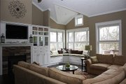 Craftsman Style House Plan - 4 Beds 3.5 Baths 3148 Sq/Ft Plan #48-235 Interior - Family Room