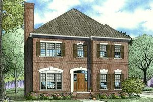 Traditional Exterior - Front Elevation Plan #17-2286
