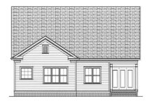 Farmhouse Exterior - Rear Elevation Plan #413-792