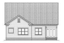 Dream House Plan - Farmhouse Exterior - Rear Elevation Plan #413-792