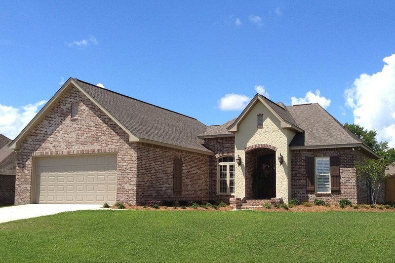 Traditional Exterior - Other Elevation Plan #430-70