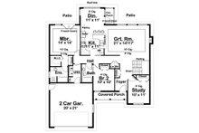 Farmhouse Floor Plan - Main Floor Plan Plan #126-179